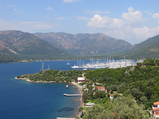 View of Yacht Marina