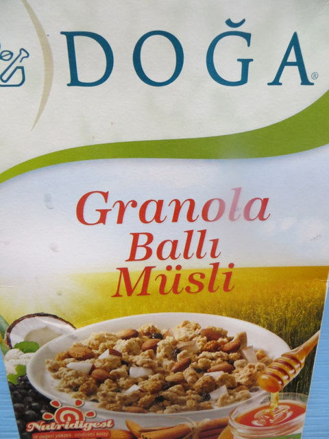 Our breakfast cereal