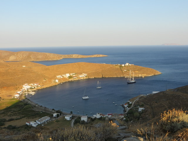 Stefanos Bay, Kythnos Island, Greece