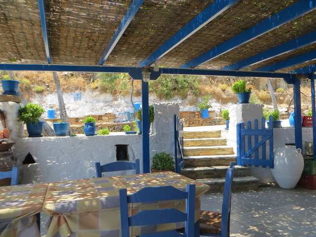 Taverna, Kythnos Island (we ate here every day)