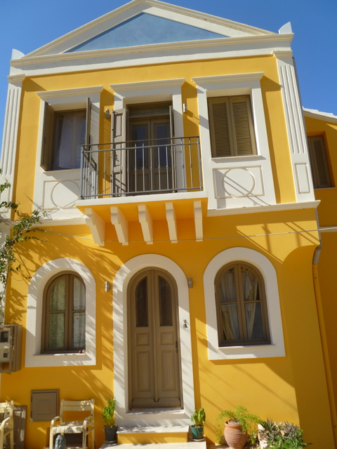Restored house, Kastellorizo