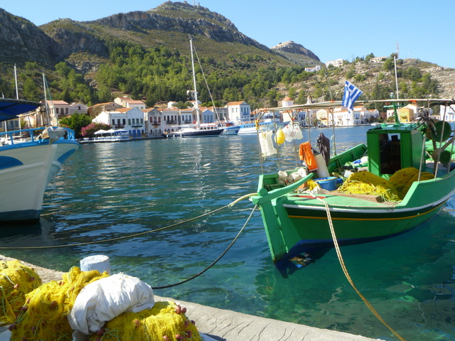 Quay at Kastellorizo