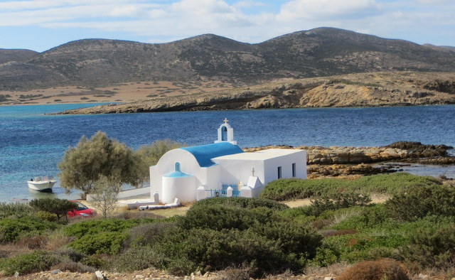 Church at St. Georgio, Antiparo