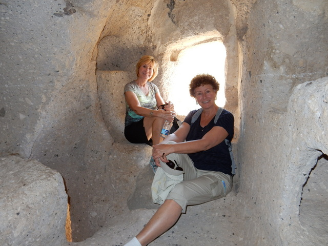 Laura and Chris at Cappadocia