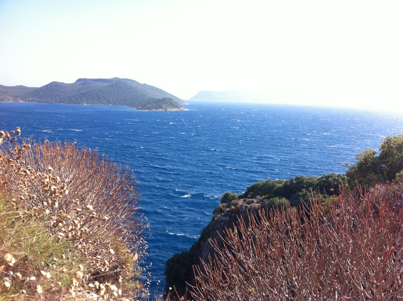 View from the Lycian Trail (Kaş(