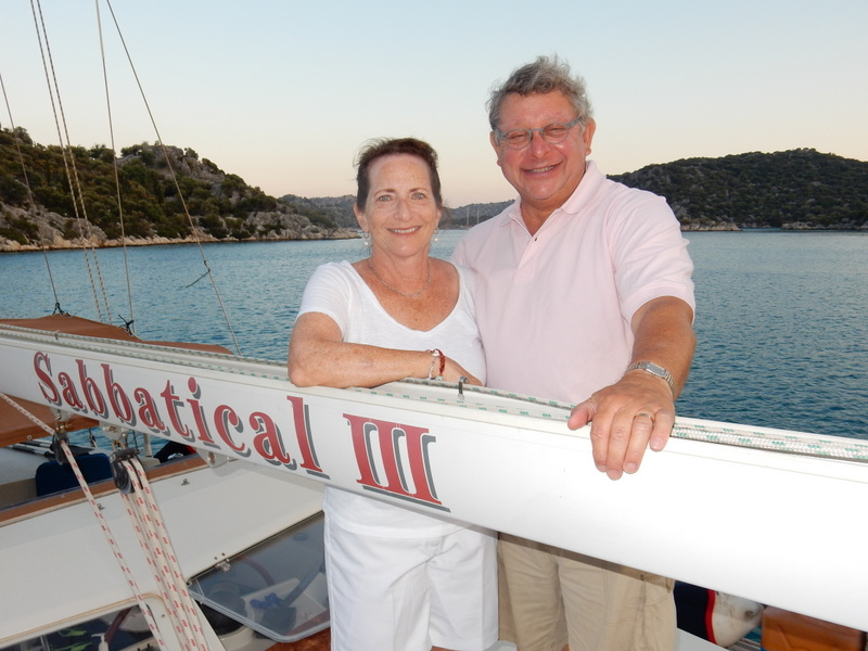 Wileen and Steve on Sabbatical III