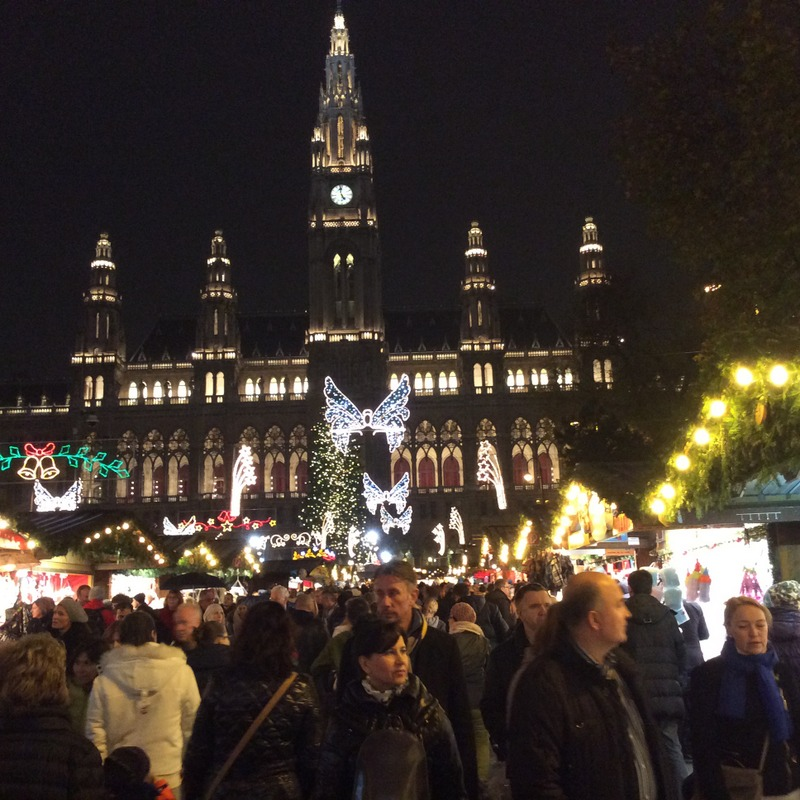Christmas Market at Rathausplatz, Vienna