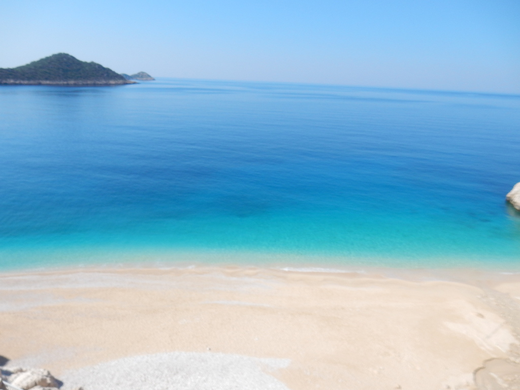 Kaputas Beach on the Kaş - Kalkan road