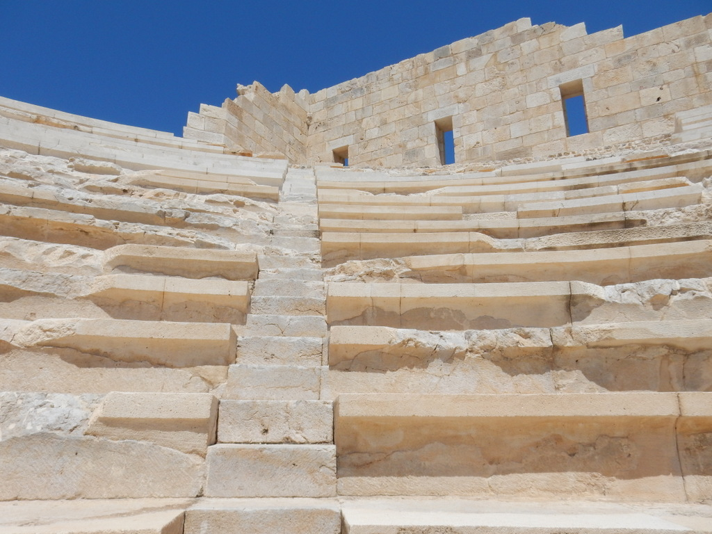 Temple coliseum at Patara