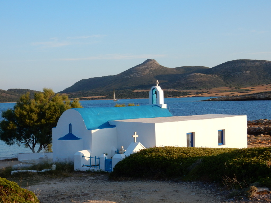 Church, St. Georges, Antiparos Island
