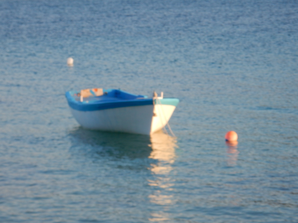 Fishing skiff, St. Georges, Antiparos Island