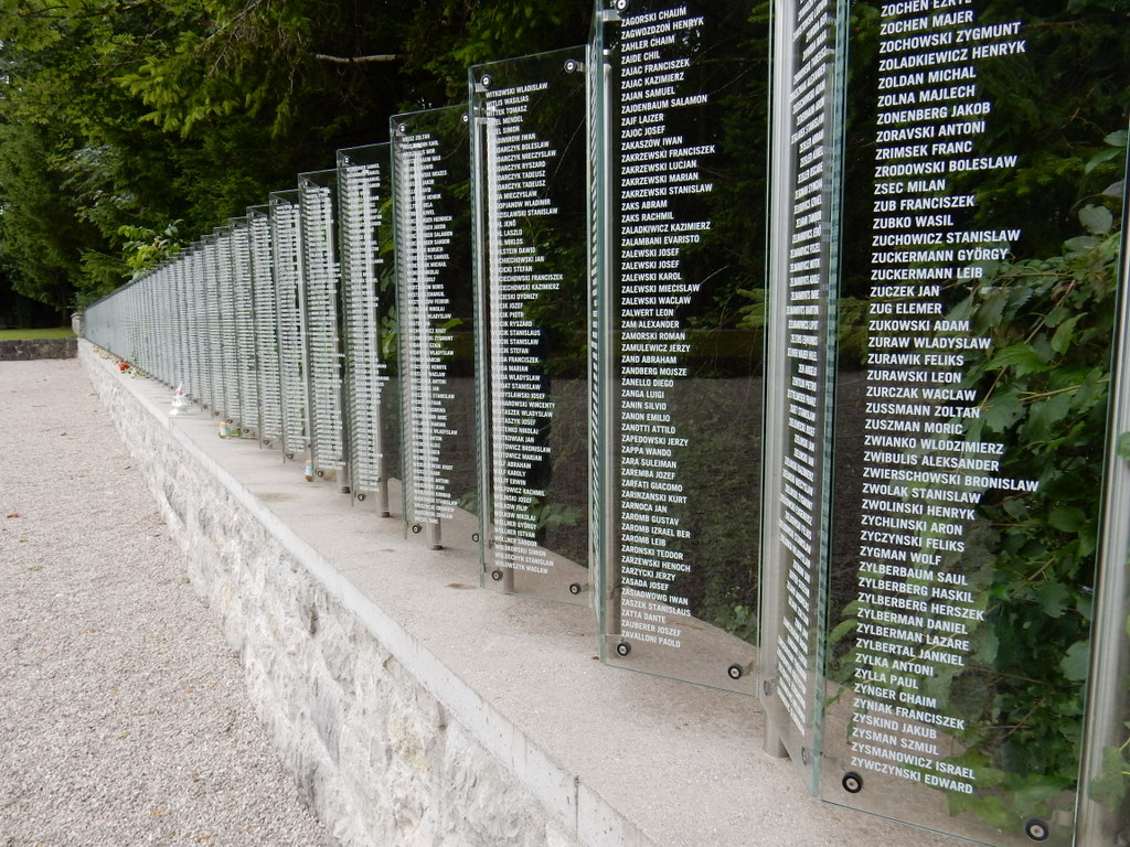 List of those murdered at Ebensee Concentration Camp at the southern end of Traunsee.