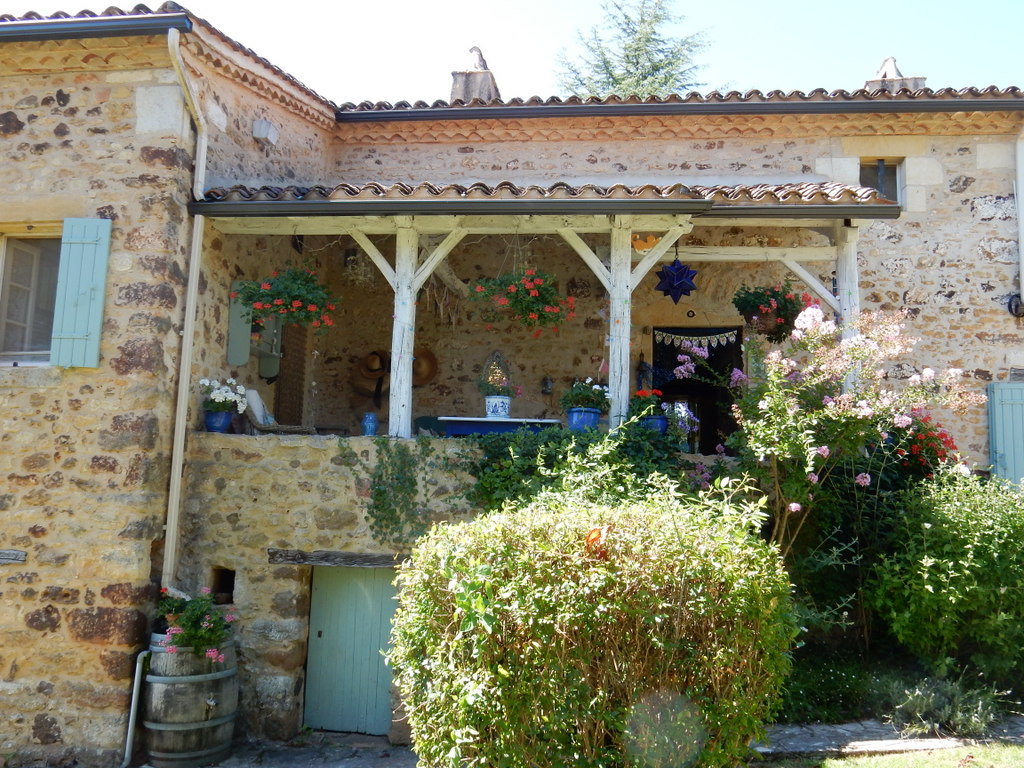 """La Bourg,"" the home of Melinda and George in Fongalop (Dordogne region)"