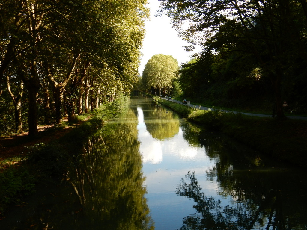 Canal du Midi near Lompian