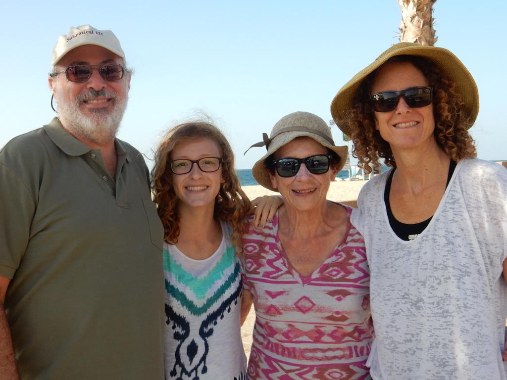 At the Ashkelon Marina