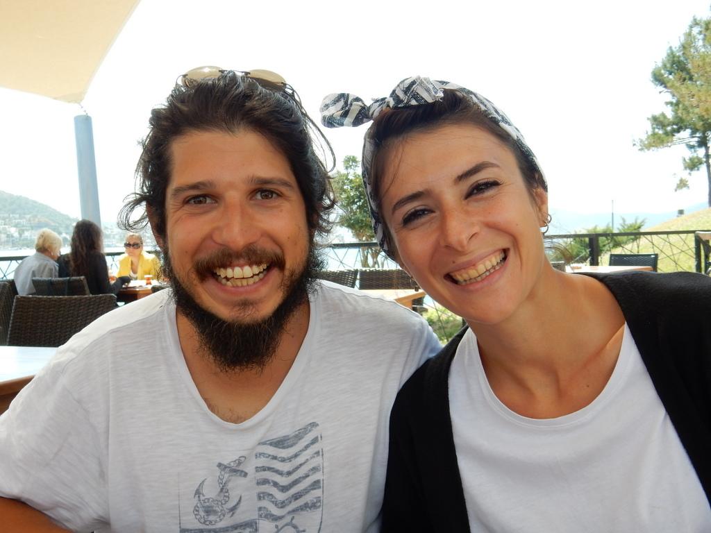 Mehmet and Begum in Bodrum