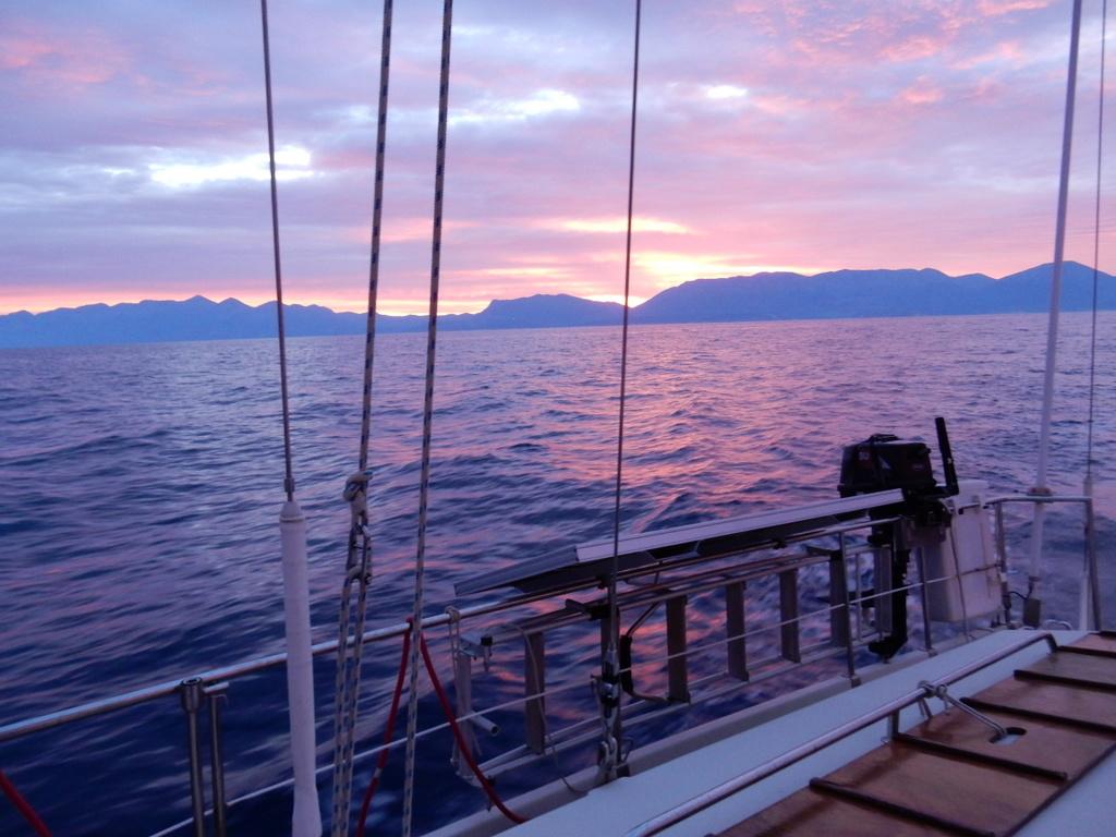 Sunset in Antiparos