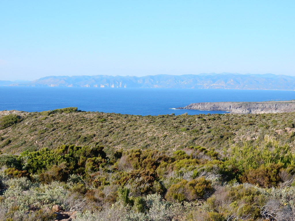 Coast of Isola San Pietro