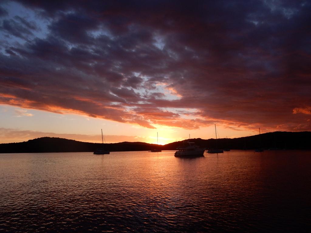 Isola Caprera sunset