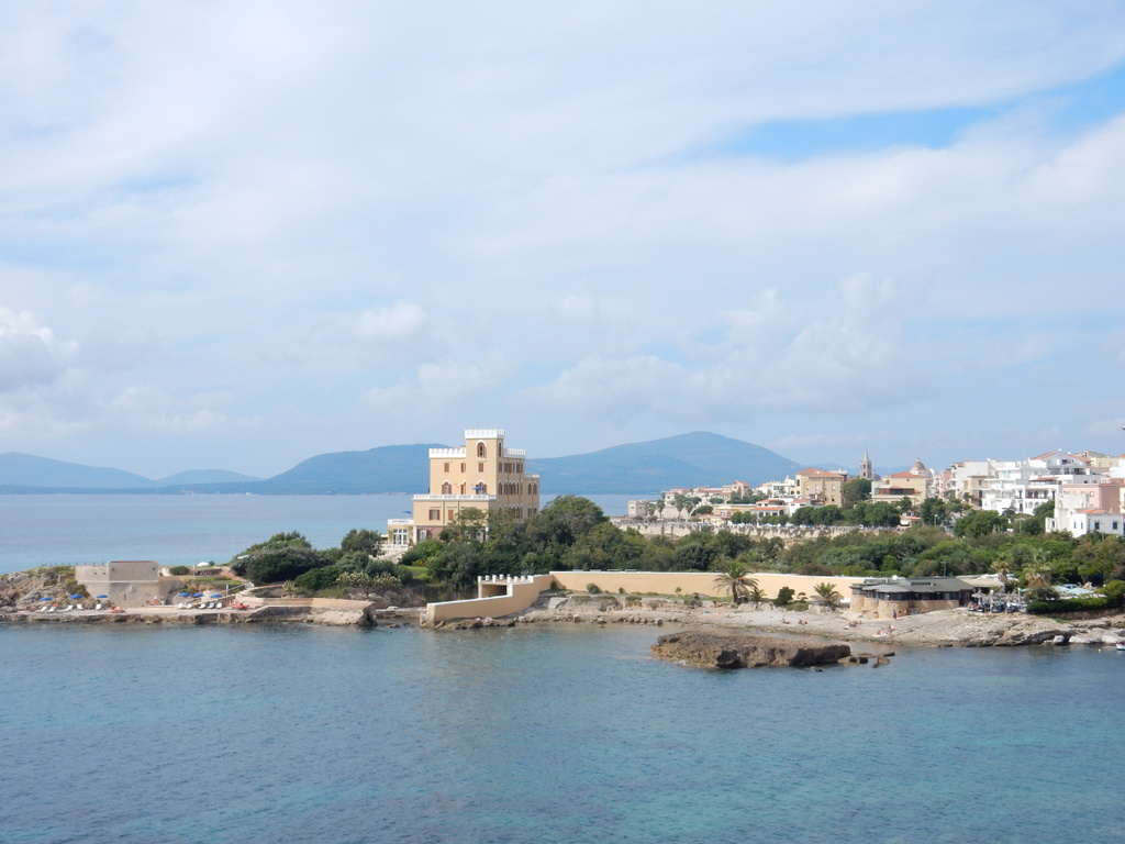View of Villa Las Tronas and Alghero