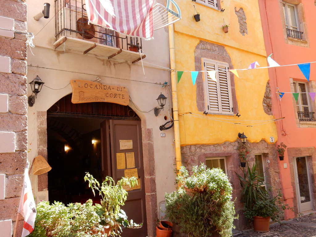 We loved our meal at this locanda on a cute little piazza in Bosa