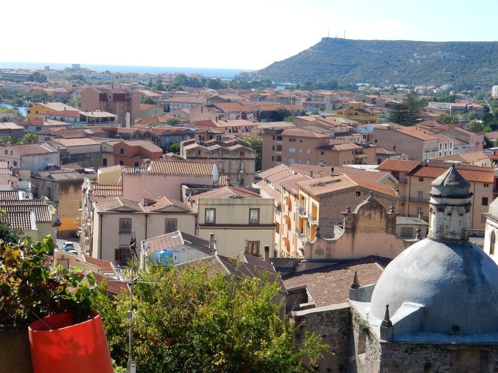 View of Bosa from the path up to Malaspina Castle (Bosa)
